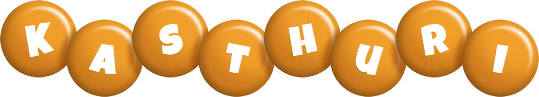 Kasthuri candy-orange logo