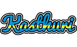 Kasthuri sweden logo