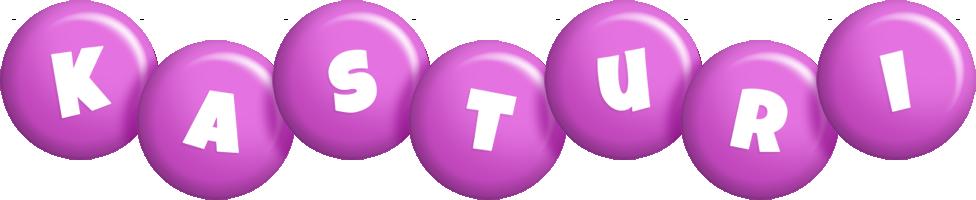 Kasturi candy-purple logo