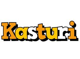 Kasturi cartoon logo