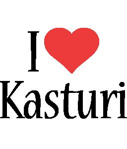 Kasturi i-love logo