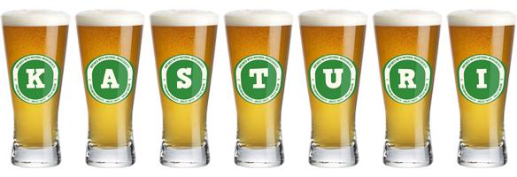 Kasturi lager logo