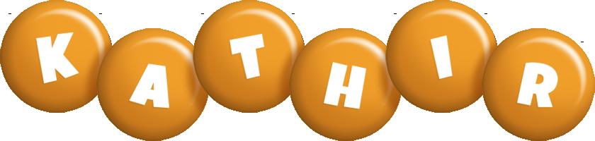 Kathir candy-orange logo
