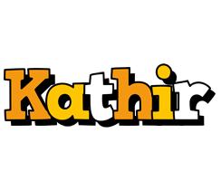 Kathir cartoon logo