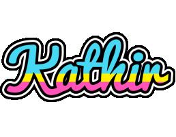Kathir circus logo