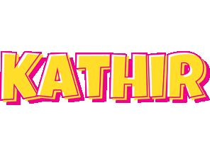 Kathir kaboom logo