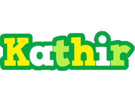 Kathir soccer logo