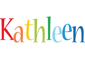 Kathleen birthday logo