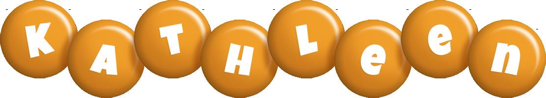 Kathleen candy-orange logo