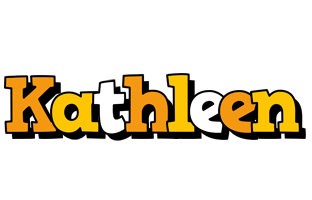 Kathleen cartoon logo