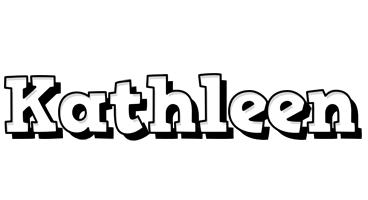Kathleen snowing logo