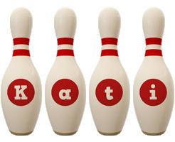 Kati bowling-pin logo