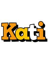 Kati cartoon logo