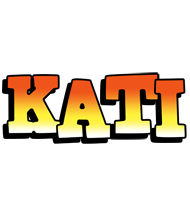 Kati sunset logo