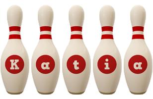 Katia bowling-pin logo