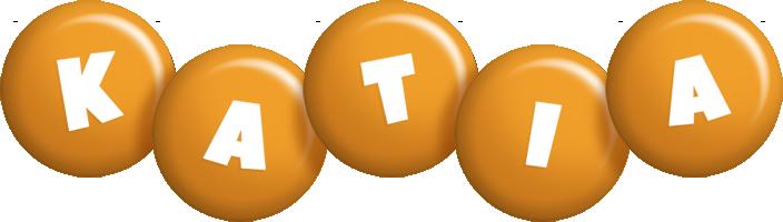 Katia candy-orange logo