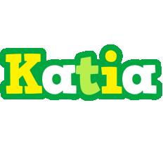 Katia soccer logo