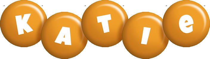 Katie candy-orange logo