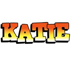 Katie sunset logo