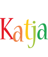 Katja birthday logo