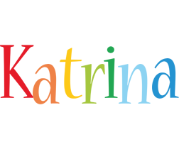 Katrina birthday logo