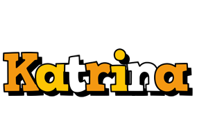 Katrina cartoon logo