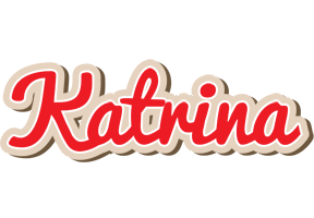 Katrina chocolate logo