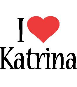 Katrina i-love logo