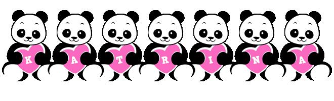 Katrina love-panda logo