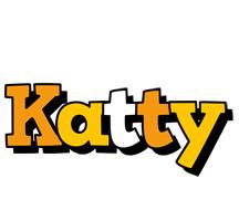Katty cartoon logo