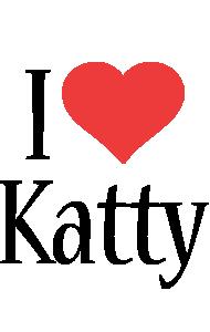 Katty i-love logo