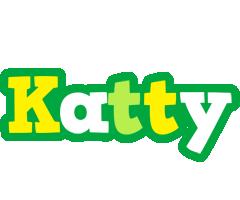Katty soccer logo