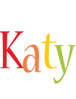 Katy birthday logo