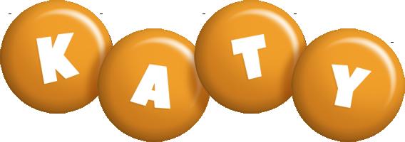 Katy candy-orange logo