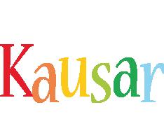 Kausar birthday logo