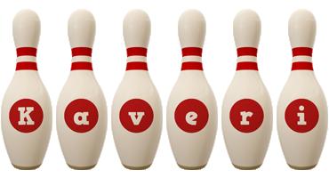 Kaveri bowling-pin logo