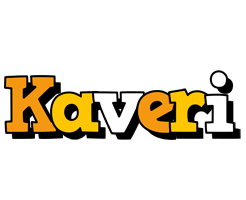 Kaveri cartoon logo