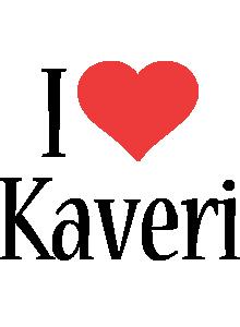 Kaveri i-love logo
