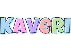 Kaveri pastel logo