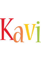 Kavi birthday logo