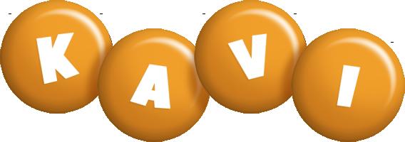 Kavi candy-orange logo