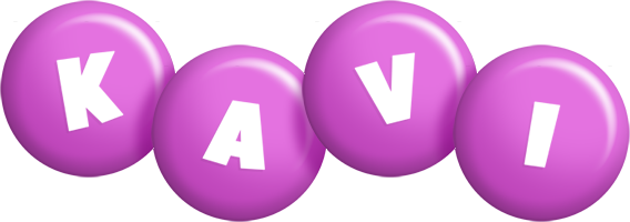 Kavi candy-purple logo