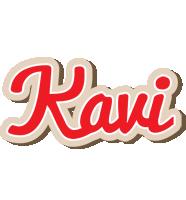 Kavi chocolate logo
