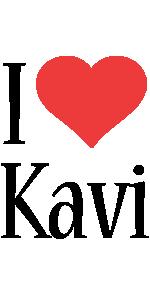 Kavi i-love logo