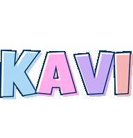 Kavi pastel logo