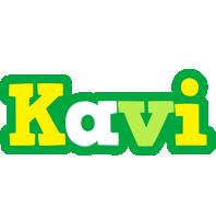 Kavi soccer logo