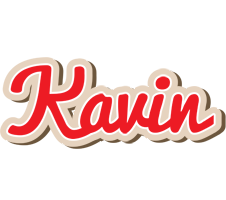 Kavin chocolate logo