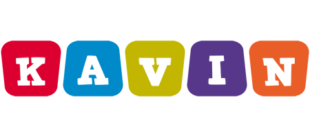 Kavin kiddo logo