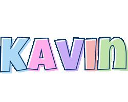 Kavin pastel logo