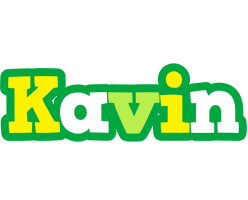 Kavin soccer logo